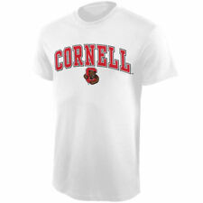 Cornell Big Red Youth Arched University T-Shirt - White - NCAA