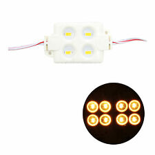 5630 4 LED SMD Soft White Module Injection Waterproof Strip Light Sign DC 12V