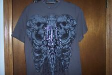 MMA Elite UFC Eagle and Skulls  T-Shirt NWT S