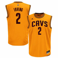 Kyrie Irving Cleveland Cavaliers adidas Replica Alternate Jersey - Gold - NBA