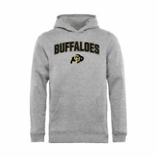 Colorado Buffaloes Youth Proud Mascot Pullover Hoodie - Ash - NCAA