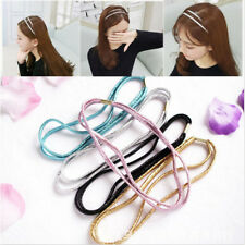 Bling Head Piece Stretchy Hair Band Elastic Headband Jewelry for Girl Lady