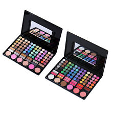 78 Colors Eyeshadow Blush Lipstick Palette Kits Eye Lip Face Makeup Cosmetic