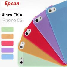 Soft UItra Slim Matte Clear Back Case Hard Skin Cover for Iphone 5s