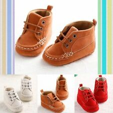 Adorable Sneakers Newborn Baby Crib Shoes Boys Girls Infant Toddler Soft Sole QF