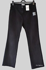 BNWT M&S Black Original Bootcut Denim Jeans with Stretch, Size 10 Med, 12 Med