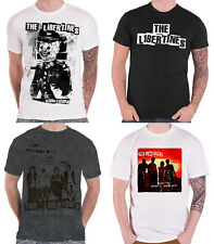 The Libertines T Shirt band logo Anthems For Doomed Youth Official Mens New