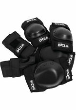 TSG Protection Set black - Skateboard Longboard Protector Elbow, Knee, Hand