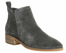 Womens Dolce Vita Tessey Low Boots ANTHRACITE GREY SUEDE Boots