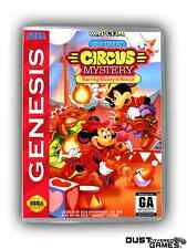 Great Circus Mystery Starring Mickey & Minnie, The Genesis GEN Game Case Box Pro