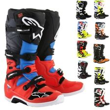 Alpinestars Racing Tech 7 MX Off Road Dirt Bike ATV Quad Motocross Boots