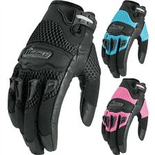 2015 Icon Twenty Niner Women's Motorcycle Street Riding Cycle Protection Gloves
