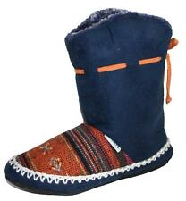 Ladies Girls Coolers Furry Inuit Style Boot Bootee Slippers  Size 3-8