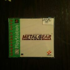 Metal Gear Solid Sony PlayStation 1 PS1 Brand New Factory Sealed