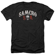 Sons Of Anarchy Samcro Forever Mens Heather Shirt Black