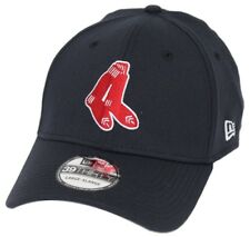 """Boston Red Sox New Era MLB 39THIRTY Cooperstown """"Classic"""" Flex Fit Hat - Navy"""