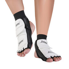 Pair Taekwondo Foot Pads Toes Instep Ankle Protector for Karate MMA Martial Arts