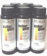 Redken Color Gels Permanent Conditioning Haircolor Choose Any Shade