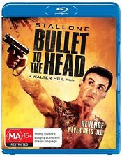 Bullet To The Head, 2013 Action/Adventure Sylvester Stallone Blu-ray NEW