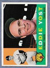 1960 Topps Set Break #245 Eddie Yost EX-EXMT Save On Shipping