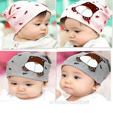 Color Infant Baby Autumn Winter Cartoon Dog Toddler Beanie Hat Warm Cap Cute