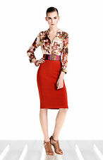 New KAREN MILLEN BNWT Sporty £105 Bandage Bodycon Work Office Party Pencil Skirt