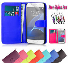 PU Magnetic Wallet Leather Case Cover Fits Holder For Samsung Galaxy Note 7 UK