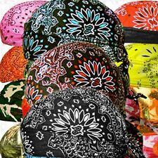 Paisley SweatBand Head Wrap Skull Cap Doo Rag Du Hat Sold Lot Biker Do Bandana