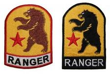 Fallout New Vegas NCR Ranger Embroidered Patch Badge Sew/Iron-on 2 colours 10cm
