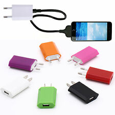 SUP New Brand Usb Eu Wall Charger Plug 5V Ac Power Adapter For Iphone 6 Xiaomi