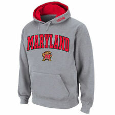 Maryland Terrapins Stadium Athletic Arch & Logo Pullover Hoodie - Gray - NCAA