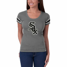 Chicago White Sox '47 Women's Off Campus Vintage Logo T-Shirt - Gray - MLB