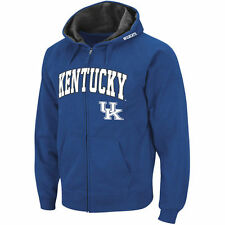 Kentucky Wildcats Stadium Athletic Arch & Logo Full Zip Hoodie - Royal - NCAA