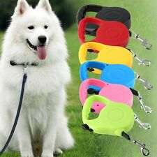 High Quality 3M/5M Long Retractable Dog Pet Lead For Training Leash ExtendableV3