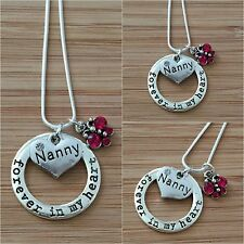 Personalised Necklace for mum sister daughter cousin nan - Birthday Gift for Her