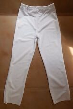 NWT Main Street White Polyester Pants ladies sizes  Praise Dance Boot Cut 71002