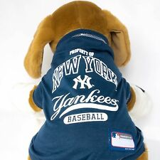 New York Yankees Dog Shirt MLB Baseball Officially Licensed Quality Pet Product