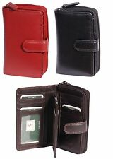 Ladies Real Leather Purse 18 Card Slots Coin Pocket ID Slots Gift Boxed