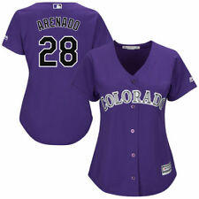 Nolan Arenado Majestic Colorado Rockies Baseball Jersey - MLB