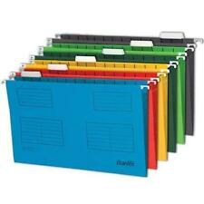 Bantex {Elba} Quality Suspension Files 225g A4 or Foolscap Inserts & Card tabs