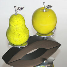 Infinita Corporation Artesana Hand Crafted Apple and Pear Natural Gourd