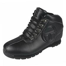 Sergio Tacchini Boy's Quay Youth Mid Casual Fashion Boots Shoes School black