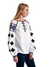 Ukrainian Ethnic embroidered shirt / vyshyvanka / Linen / All Sizes Available!