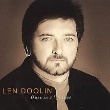LEN DOOLIN - Once In A Lifetime CD Michael White, Michael Spriggs - NEW SEALED