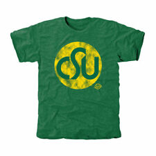 Colorado State Rams Old Main Collection 1974 Tri-Blend T-Shirt - Green - NCAA
