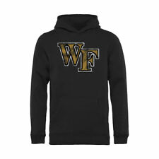 Wake Forest Demon Deacons Youth Classic Primary Pullover Hoodie - Black - NCAA