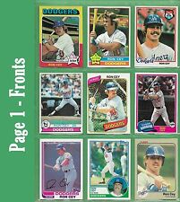 Ron Cey 1975 to 1983 Topps or Fleer cards - NM/MT - Starting at $2.49