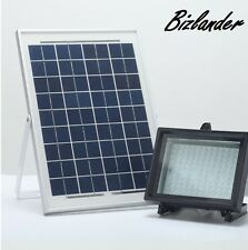 Bizlander 108LED Solar Flood Light 1109Lux Outdoor Commercial Light for Signage