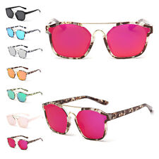 UV400 Unisex Metal Frame Driving Mirrored Sunglasses Glasses Outdoor Eyewear