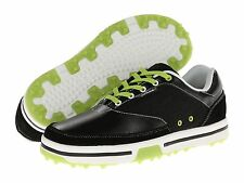 60% OFF NEW Mens CROCS Drayden II Golf Shoes Black/Volt Green Retail $100